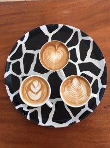 Latte art practice